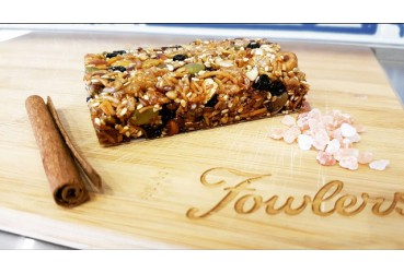 Blueberry Quinoa & Oat Bars